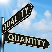 quality v quantity blog