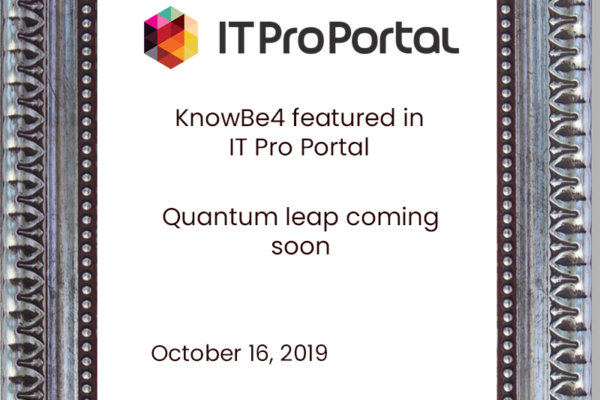 KnowBe4-featured-in-IT-Pro-Portal