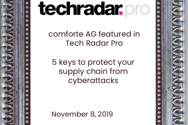 Comforte-AG-featured-in-Tech-Radar-Pro