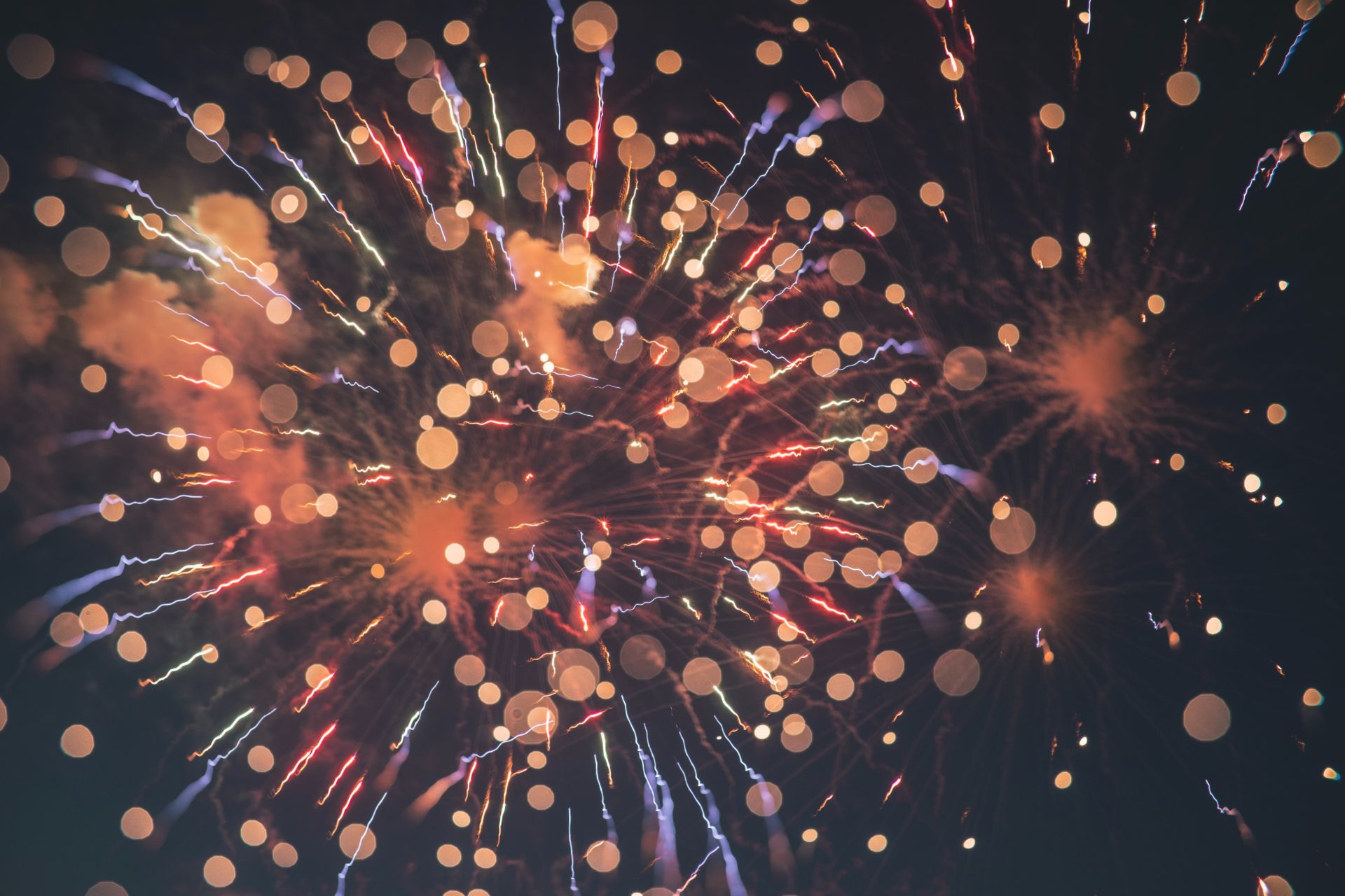 orange-and purple-fireworks