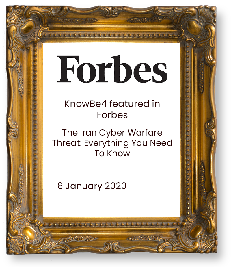 KnowBe4-featured-in-Forbes