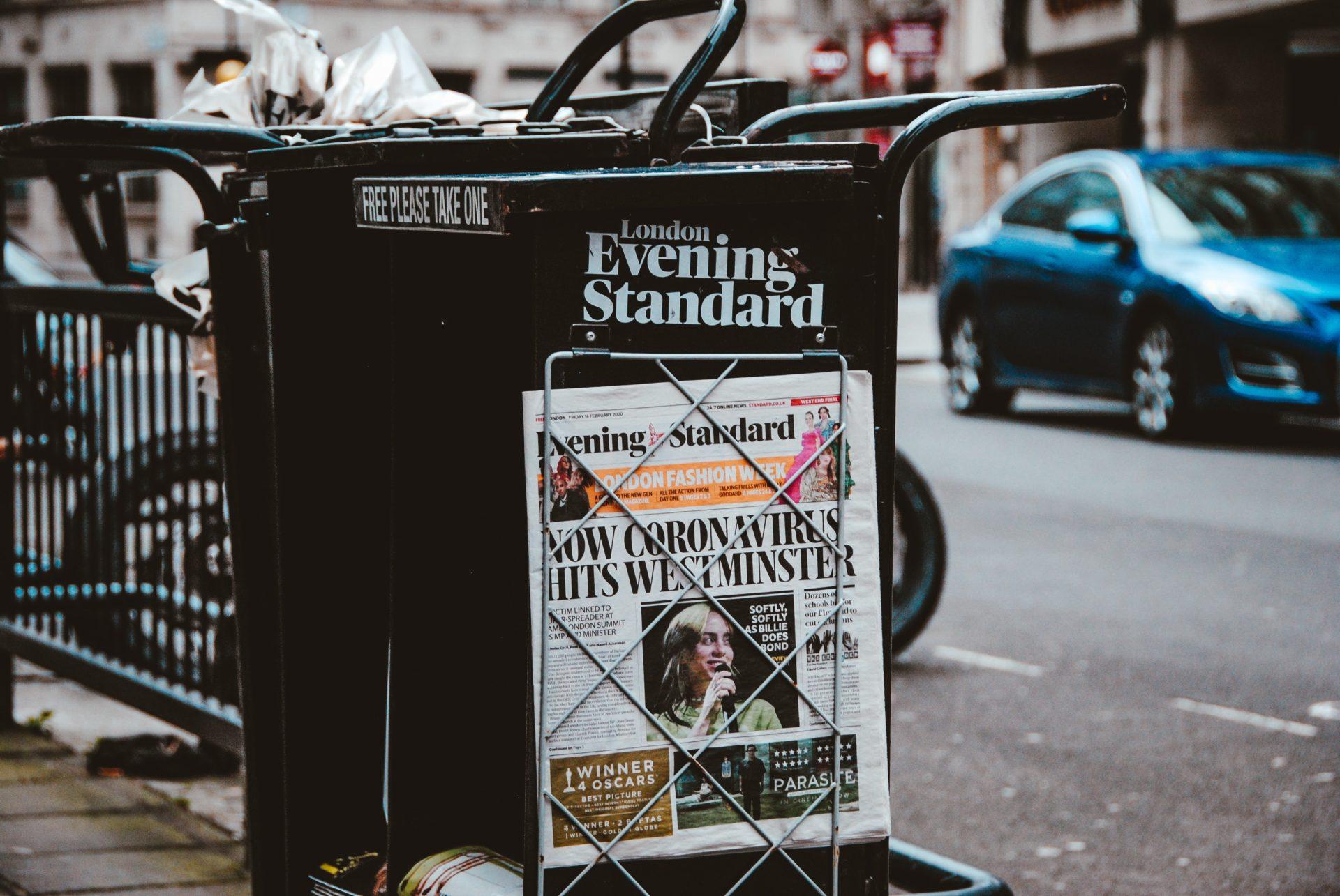 Evening-Standard-coronavirus-story