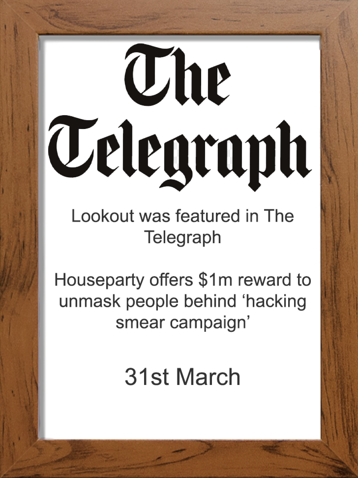 The Telegraph text