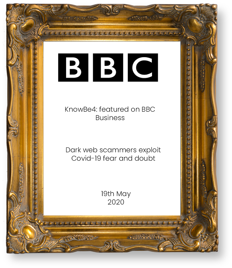 KnowBe4-feature-in-bbc