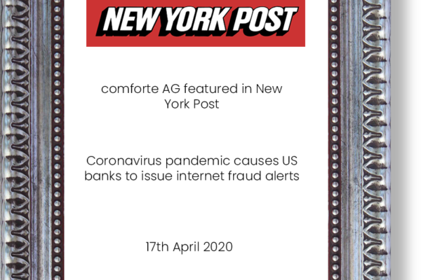 Comforte-AG-feature-in-New-York-Post