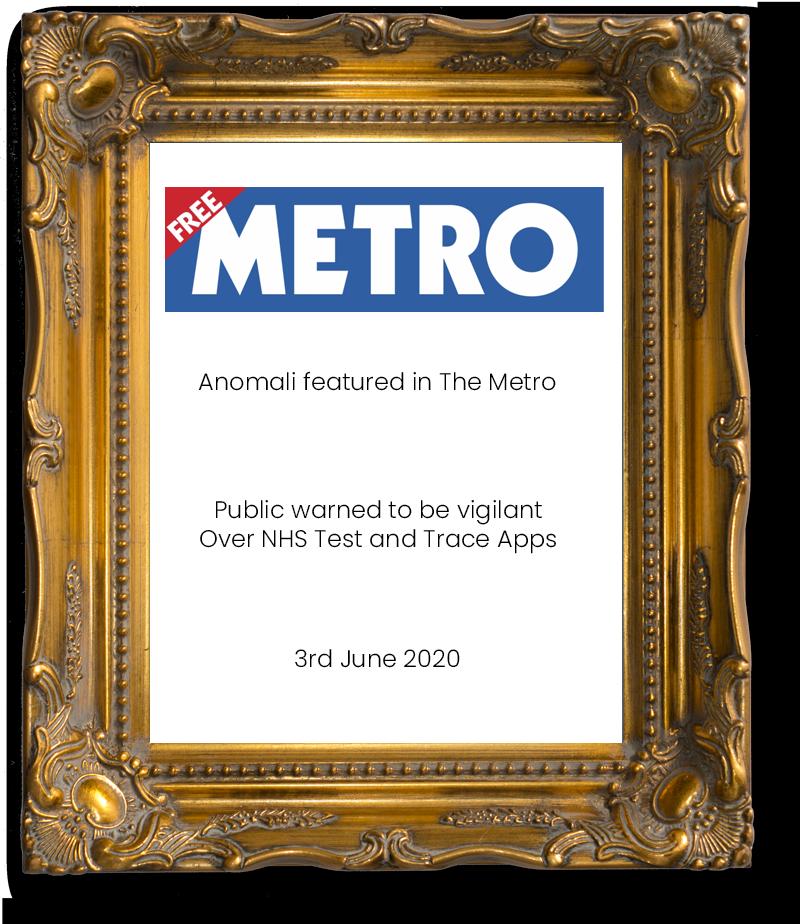 Anomali Metro