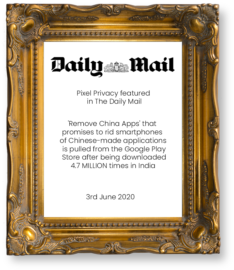 Pixel Privacy - Daily Mail
