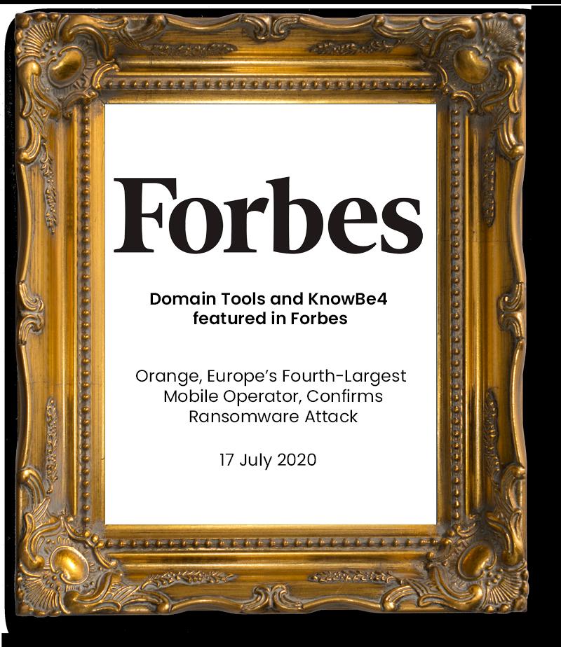 DT & KB4 Forbes
