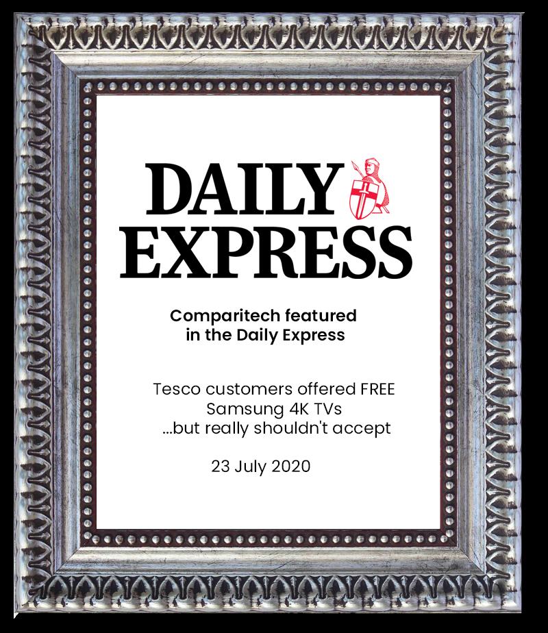 Daily Express - Comparitech