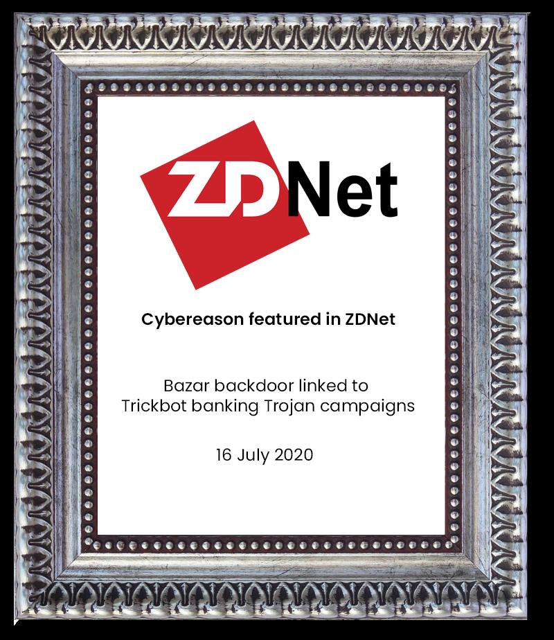 ZDNet -cybereason