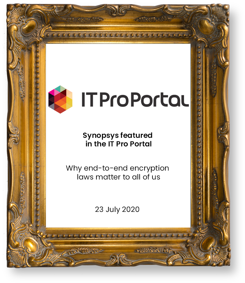 it pro portal Synopsys