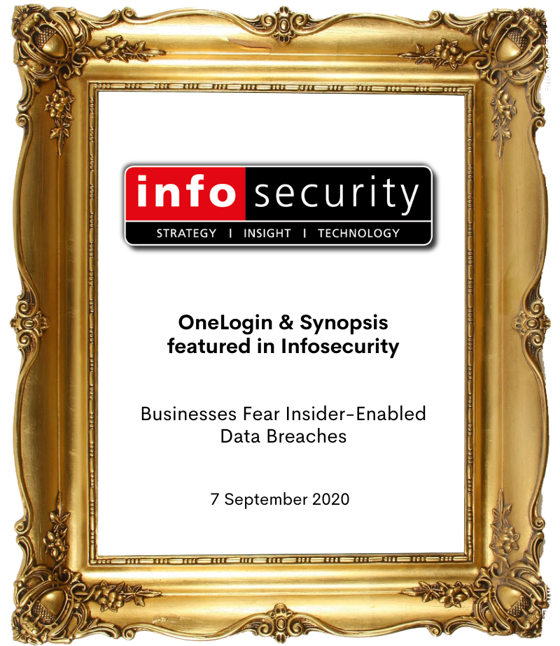 Copy of Picture Frame- OneLogin and Synopsis Infosec
