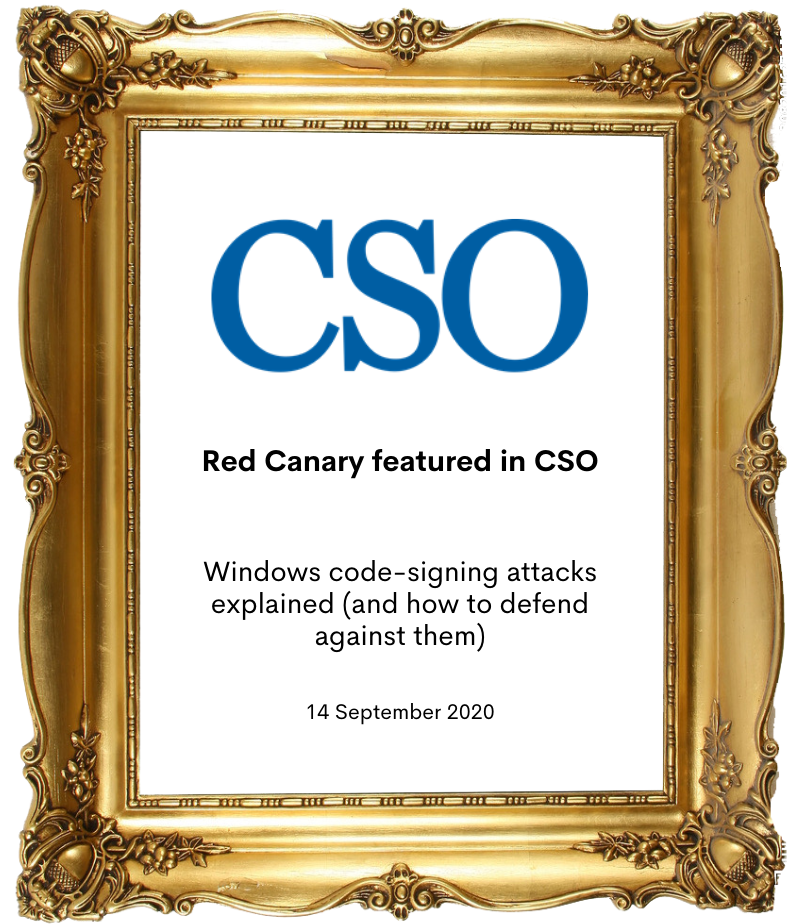 Red Canary in CSO