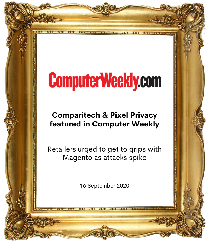 Comparitech and Pixel Privacy in Computer Weekly