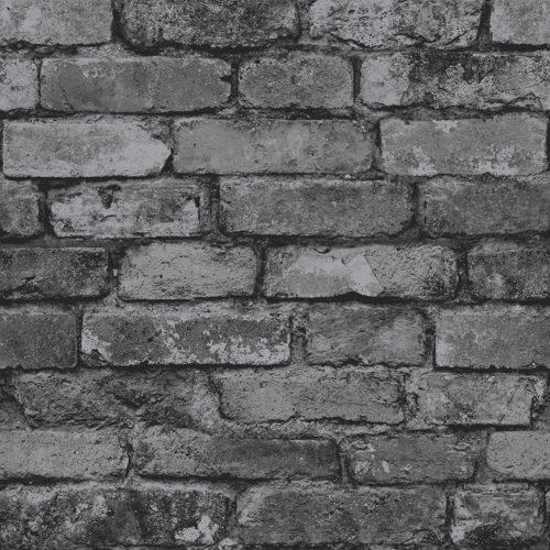 Grey background brick wall