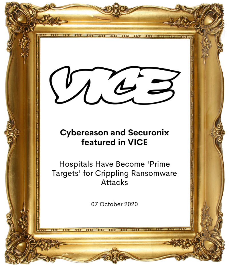 Cybereason and Securonix in Vice