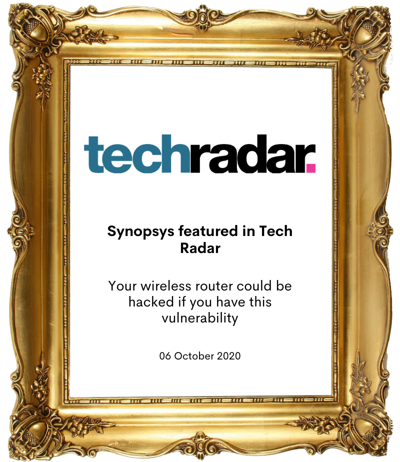 Synopsys in Tech Radar