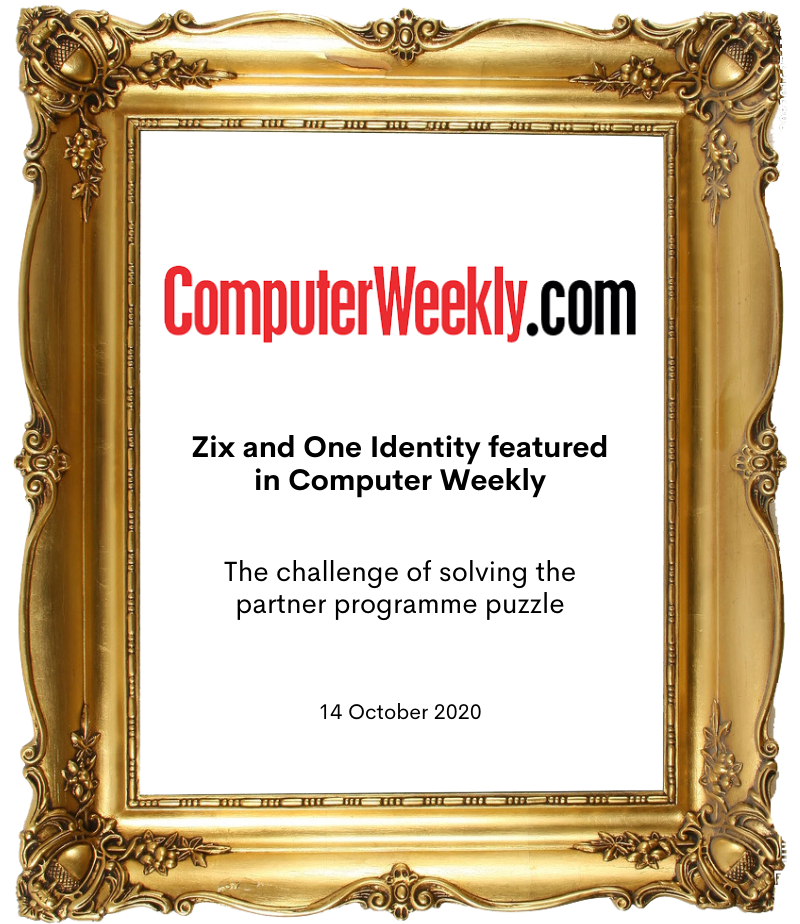 Zix and One Identity in computer weekly