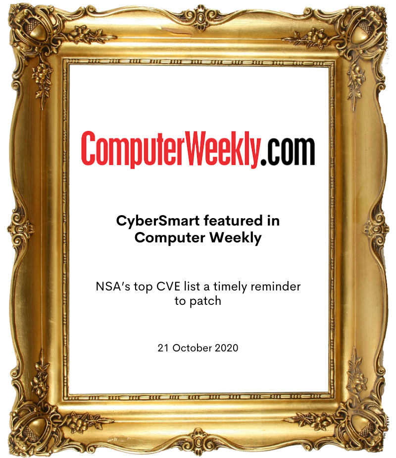 Cybersmart in Computer Weekly
