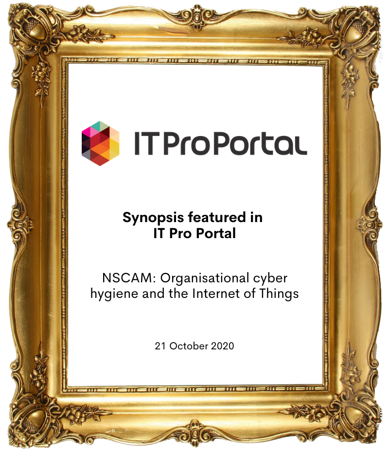 Synopsis in IT ProPortal