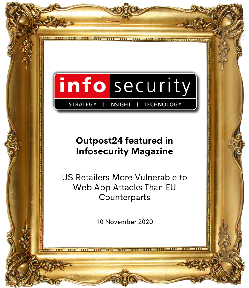 Outpost 24 in Infosecurity Magazine