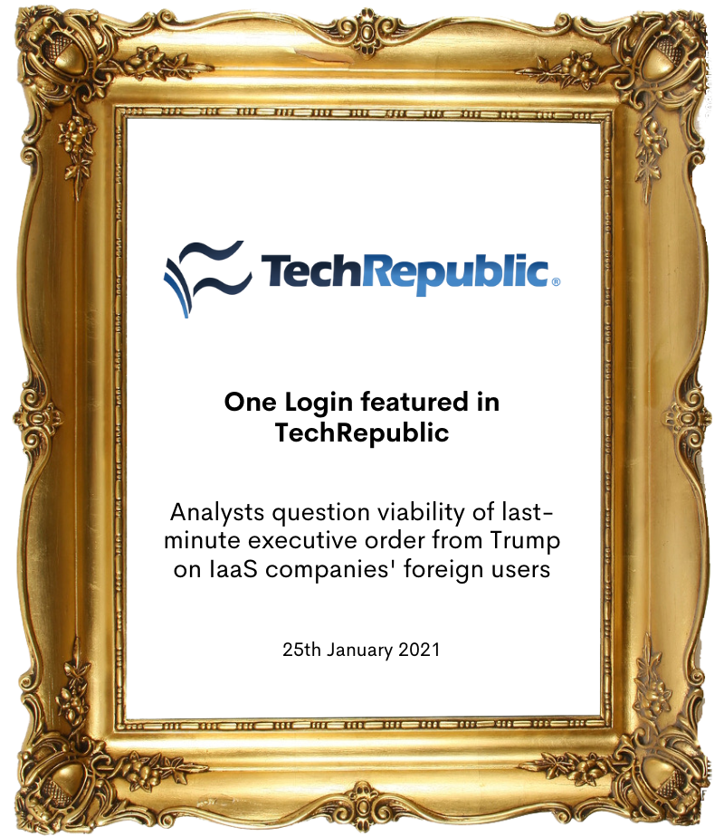 One Login in Tech Republic