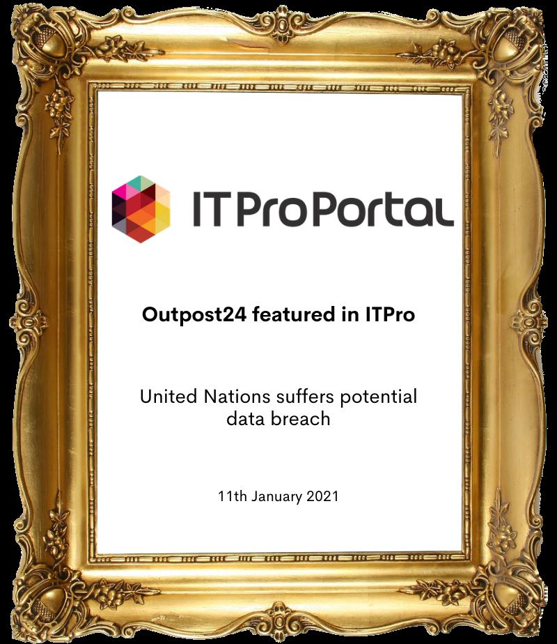 ItProPortal frame