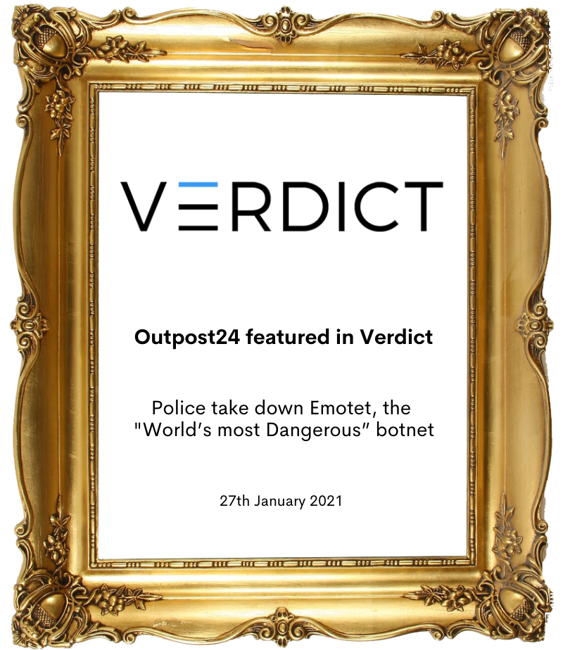 Outpost24 in Verdict