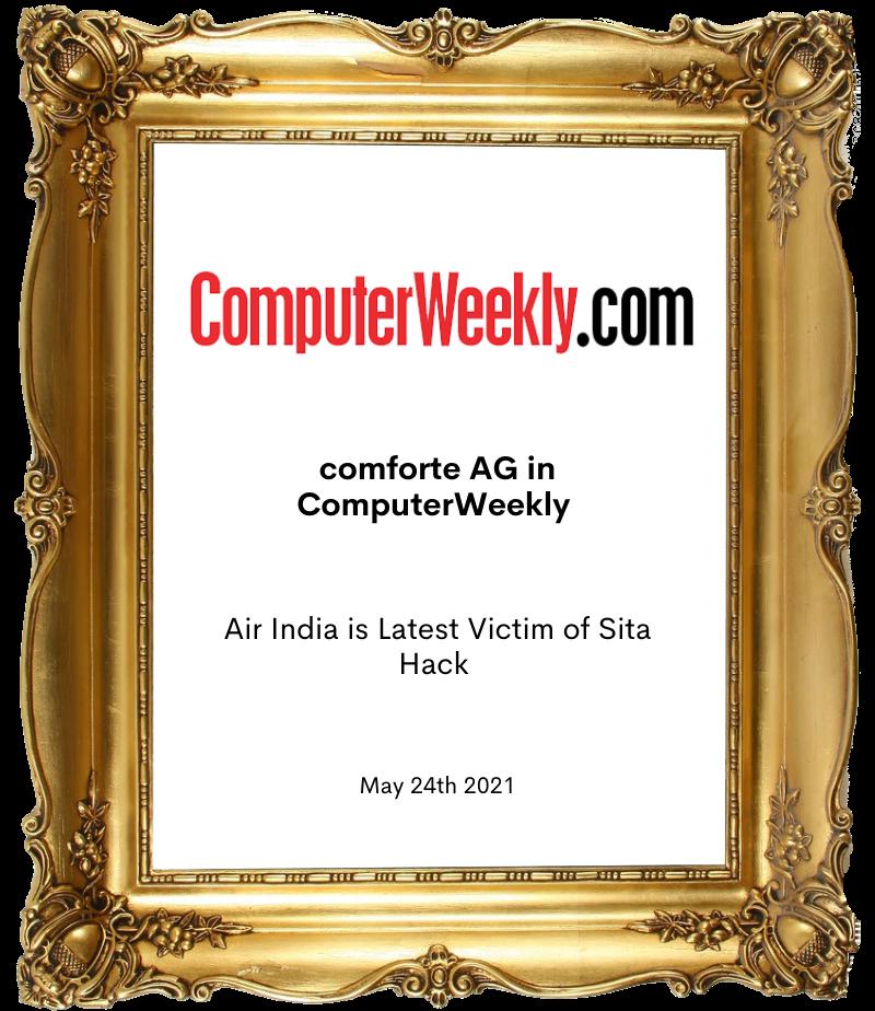 computer weekly